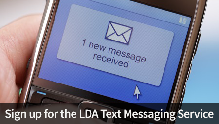 lda text message